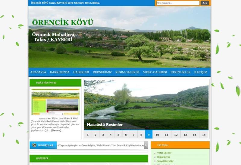 www.orencikliyim.com Yayına Başlamıştır.